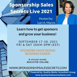 Sponsorship Sales Secrets Live 2021 (virtual)